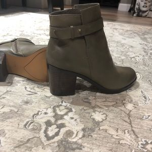Halogen Leather Booties